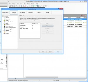DS-5000 Dictation software - Click Apply, OK