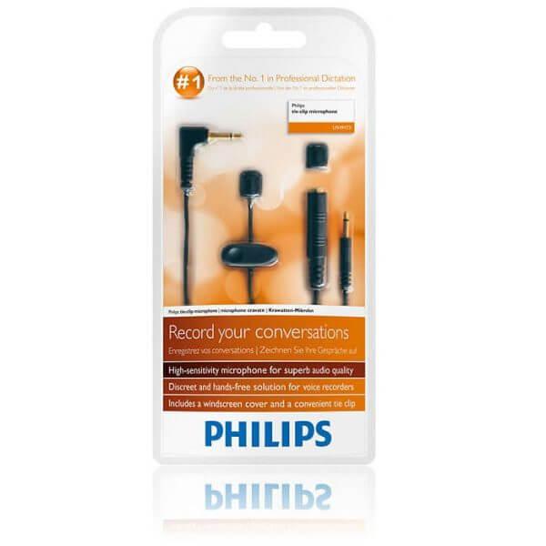 Philips LFH-9173 Tie Clip Microphone