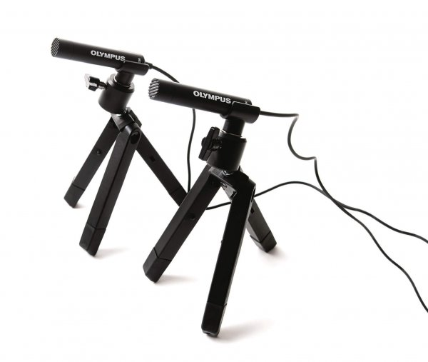 Olympus ME-30W Omni directional 2-Channel Microphone Kit