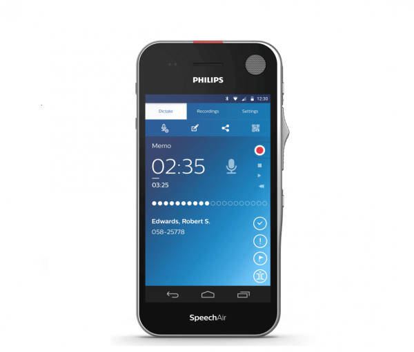 Philips PSP-1100 SpeechAir Smart Dictation Recorder