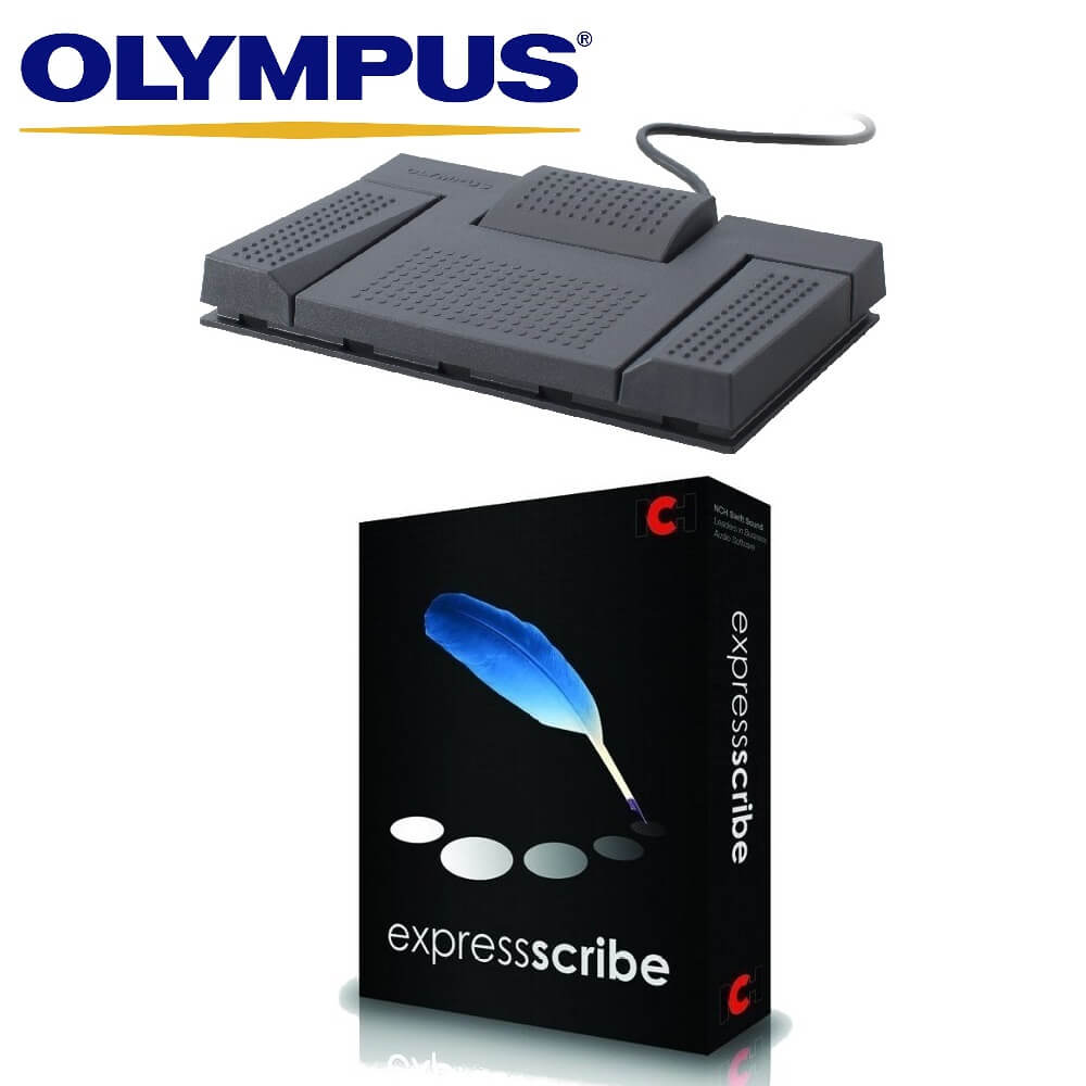 Olympus RS-28H Foot Pedal with Express Scribe Pro
