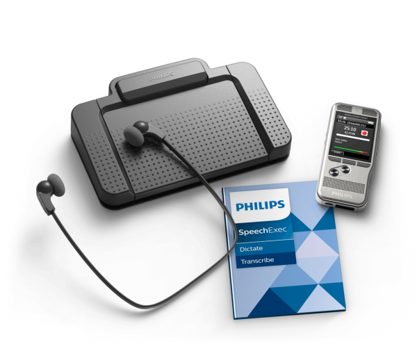 Philips DPM6700 Dictation and Transcription Starter Kit