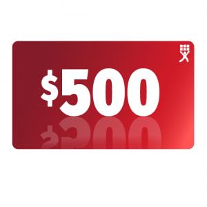 $500 Prepaid Transcription Credit