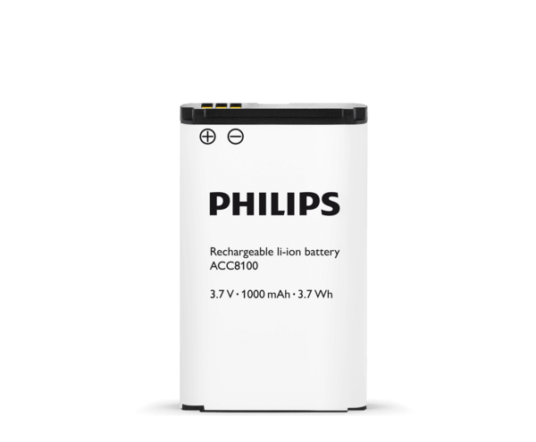Philips ACC8100 Rechargeable Battery