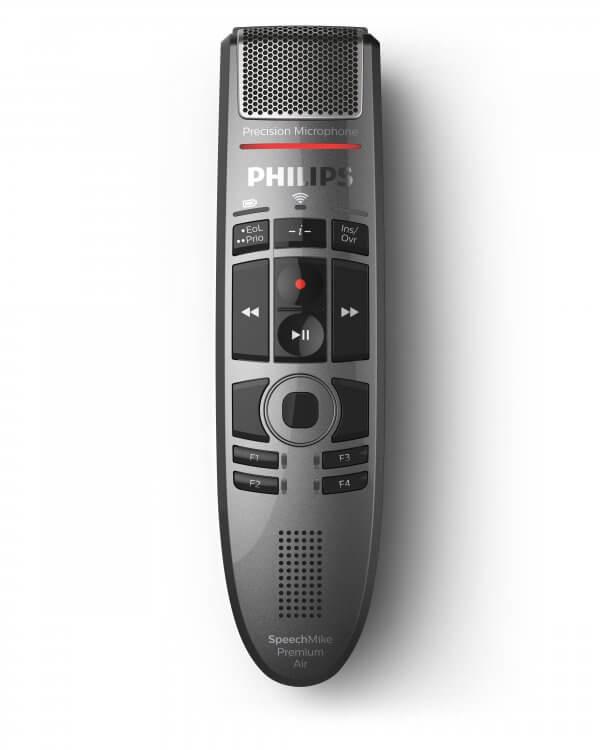 Philips SpeechMike Premium Air SMP4000 with AirBridge