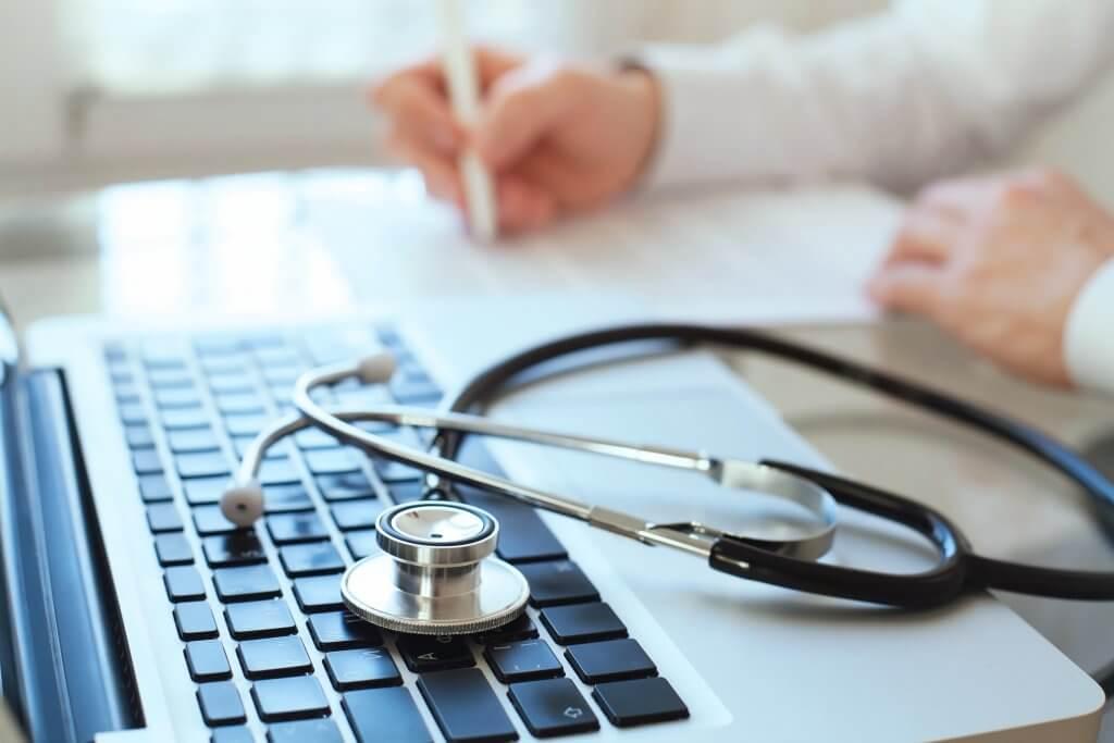 Doctor's stethoscope - Medical Transctription