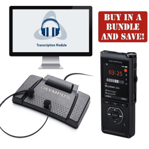 Olympus DS-9000 & AS-9000 Professional Dictation and Transcription Bundle